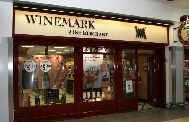 Park Centre Winemark Store Front