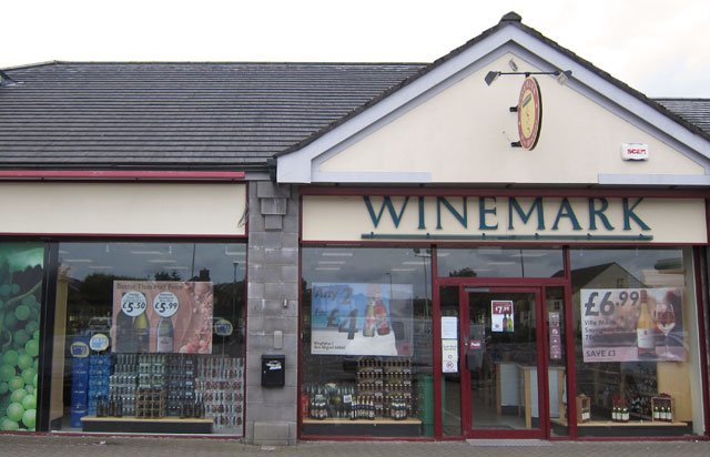 Rathgael Winemark Store Front