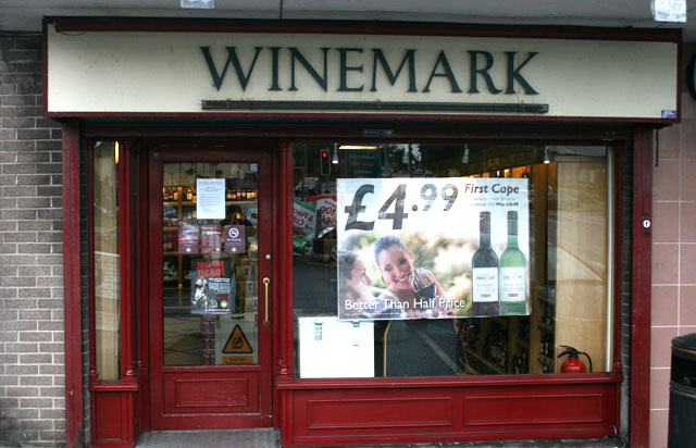 Scarva Street Winemark Store Front